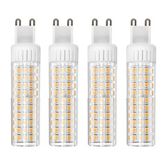 preiswerte LED-Birnen-4pcs 8.5 W 1105 lm G9 LED Mais-Birnen T 125 LED-Perlen SMD 2835 Abblendbar Warmes Weiß / Kühles Weiß 110 V