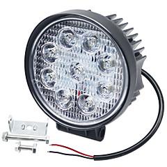 Недорогие Автомобильные фары-SO.K 1 шт. Автомобиль Лампы 27 W Интегрированный LED 6000 lm 9 Светодиодная лампа Противотуманные фары / Фары дневного света / Лампа поворотного сигнала Назначение Универсальный Все года