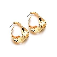 preiswerte Ohrringe-1 Paar Damen Gedreht Ohrstecker - Einzigartiges Design Schmuck Gold Für Geburtstag