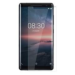 お買い得  Nokia 用スクリーンプロテクター-スクリーンプロテクター のために Nokia 8 Sirocco 強化ガラス 1枚 スクリーンプロテクター 硬度9H / 傷防止