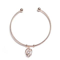 preiswerte Armbänder-Damen Klassisch Manschetten-Armbänder - Einfach Armbänder Schmuck Silber / Rotgold Für Alltag Formal Festival