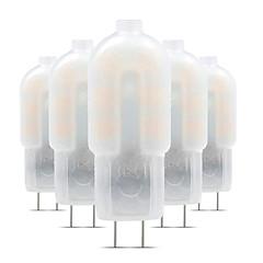 お買い得  LED 電球-5個 3 W 200-300 lm G4 LED2本ピン電球 T 12 LEDビーズ SMD 2835 かわいい 12 V