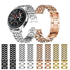 ieftine -Uita-Band pentru Gear S3 Frontier / Gear S3 Classic / Samsung Galaxy Watch 46 Samsung Galaxy Banderola Sport Oțel inoxidabil Curea de Încheietură