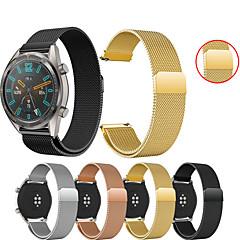 Недорогие -Ремешок для часов для Huawei Watch GT / Watch 2 Pro Huawei Спортивный ремешок / Миланский ремешок Металл / Нержавеющая сталь Повязка на запястье