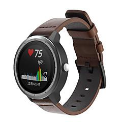 Недорогие -Ремешок для часов для vivomove / vivomove HR / Vivoactive 3 Garmin Спортивный ремешок Натуральная кожа Повязка на запястье
