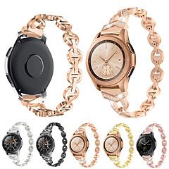 Недорогие -Ремешок для часов для Samsung Galaxy Watch 46 / Samsung Galaxy Watch 42 Samsung Galaxy Классическая застежка Металл Повязка на запястье