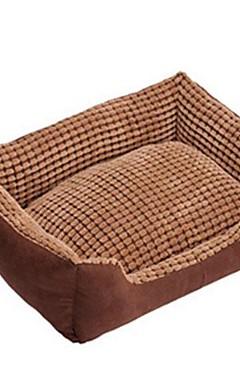 رخيصةأون -قابل للغسل الذرة الحيوانات الأليفة عش جلد الغزال الراقية عش الكلب أريكة للحيوانات الاليفة ل 68 * 55 * 16