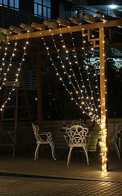 رخيصةأون -عطلة زينة رأس السنة / عيد الحب أضواء الكريسمس / عيد الميلاد الحلي ضوء LED / ديكور أبيض / لوحة الألوان / أبيض دافئ 1PC