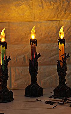 رخيصةأون -عطلة زينة زينة هالوين Halloween / هالوين الترفيه تصميم خاص / ضوء LED / حزب أرجواني / برتقالي / أخضر 1PC