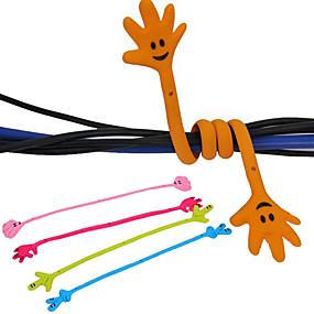 billige Kontorartikler-hånd mønster kabel opruller
