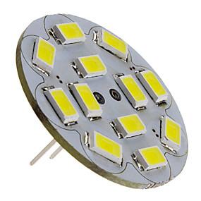 رخيصةأون مصابيح ليد ثنائية-3 W LED ضوء سبوت 250 lm G4 12 الخرز LED SMD 5730 أبيض طبيعي 12 V