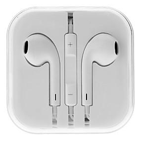 Χαμηλού Κόστους Αξεσουάρ Η/Υ & Tablet-ακουστικών 3,5 χιλιοστών στο αυτί ελέγχου στερεοφωνικό όγκο με μικρόφωνο για iPhone 6 / iPhone 6 συν
