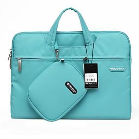 billige GEARMAX-Håndtasker Ensfarvet Nylon for MacBook Air 13-tommer / MacBook Pro 13-tommer / MacBook Air 11-tommer