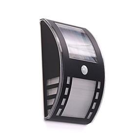 ieftine Becuri Solare LED-Lumina de perete LED-uri LED Rezistent la apă / Reîncărcabil / cu Senzor Infraroșii 1 buc