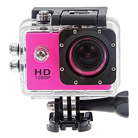 billige Sportskameraer og GoPro-tilbehør-SJ4000 Action Kamera / Sportskamera 12 mp GoPro 4000 x 3000 Pixel Vandtæt / Anti-Chock / Alt i en 1.5 inch CMOS 32 GB 30 m Dykning / Surfing / Universel