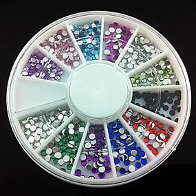 cheap Makeup & Nail Care-360 pcs Acrylic Nail Art Kit For Finger nail art Manicure Pedicure Abstract / Wedding