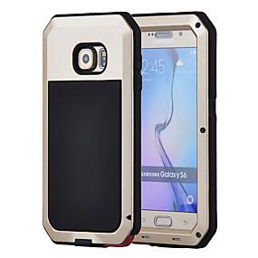 halpa Galaxy S4 kotelot / kuoret-Etui Käyttötarkoitus Samsung Galaxy Samsung Galaxy kotelo Vedenkestävä / Iskunkestävä / Pölynkestävä Suojakuori Panssari Kova Metalli varten S6 / S5 / S4