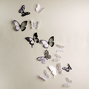 cheap Decoration Stickers-Animals 3D Wall Stickers 3D Wall Stickers Decorative Wall Stickers, Vinyl Home Decoration Wall Decal Wall