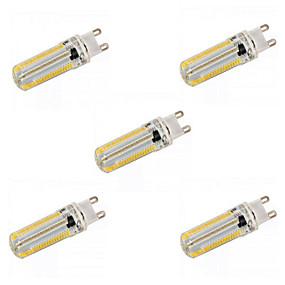 voordelige 2-pins LED-lampen-YWXLIGHT® 5 stuks 12 W 1200 lm E14 / G9 / G4 LED-maïslampen T 152 LED-kralen SMD 3014 Dimbaar Warm wit / Natuurlijk wit 220-240 V / 110-130 V / RoHs
