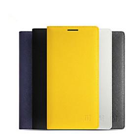 billige Mobilcovers-SHI CHENG DA Etui Til OnePlus OnePlus etui Kortholder / Auto Sluk / Flip Fuldt etui Ensfarvet Hårdt PU Læder for One Plus 2
