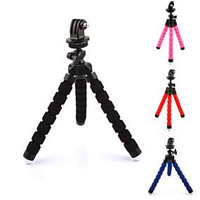 billige Sportskameraer og GoPro-tilbehør-Tilbehør Stativ Høj kvalitet Til Action Kamera Gopro 5 Xiaomi Kamera Gopro 4 Gopro 3+ Sport DV Plast