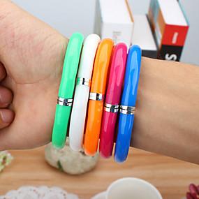 ieftine Rechizite-Markeri & Evidențiatoare Stilou Pixuri cu Bilă Stilou, Plastic Culori aleatorii Culori de cerneală For Rechizite școlare Papetărie Pachet
