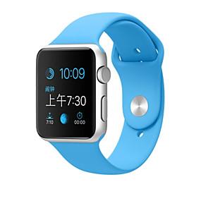 billige Apple-tilbehør-Urrem for Apple Watch Series 4/3/2/1 Apple Sportsrem Silikone Håndledsrem