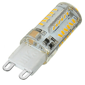 abordables Luces LED de Doble Pin-1pc 5 W 400-500 lm G9 Luces LED de Doble Pin 58 Cuentas LED SMD 3014 Regulable / Decorativa Blanco Cálido / Blanco Fresco 220-240 V / 1 pieza / Cañas