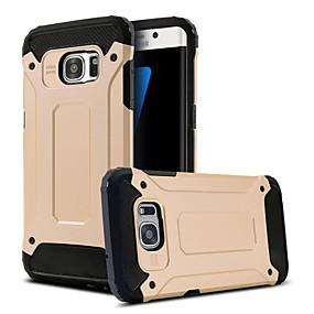 halpa Galaxy S -sarjan kotelot / kuoret-Etui Käyttötarkoitus Samsung Galaxy Samsung Galaxy S7 Edge Iskunkestävä / Tuella Takakuori Panssari PC varten S8 Plus / S8 / S7 edge