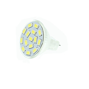abordables Luces LED de Doble Pin-SENCART 2 W Focos LED 210-245 lm GU4(MR11) MR11 15 Cuentas LED SMD 5730 Regulable Decorativa Blanco Cálido Blanco Fresco Blanco Natural 12 V 24 V / Cañas
