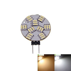 abordables Luces LED de Doble Pin-SENCART 1pc 2 W Focos LED 3000-3500/6000-6500 lm G4 MR11 27 Cuentas LED SMD 4014 Regulable Blanco Cálido Blanco Natural 12 V / 5 piezas / Cañas