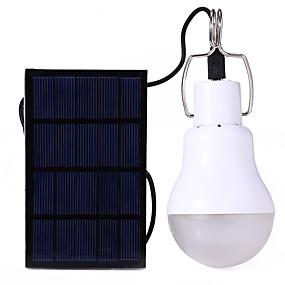 ieftine Becuri Solare LED-YWXLIGHT® 1 buc 5 W 250-400 lm ST64 12 LED-uri de margele LED Integrat Reîncărcabil Decorativ Alb Natural Baterie