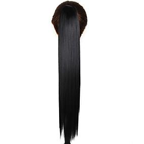 ieftine Machiaj & Îngrijire Unghii-Coadă de cal Păr Sintetic Fir de păr Extensie de păr Drept Zilnic