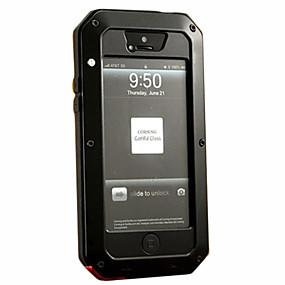 olcso iPhone tokok-iphone xr xs xs max tok esetén ütésálló / porálló / vízálló tokok páncél kemény fém iphone x 8 8 plus 7 7plus 6s 6s plus se 5 5s