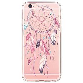 abordables Coques d'iPhone-Pour iPhone X iPhone 8 iPhone 6 iPhone 6 Plus Etuis coque Ultrafine Translucide Coque Arrière Coque Attrapeur de rêves Flexible PUT pour