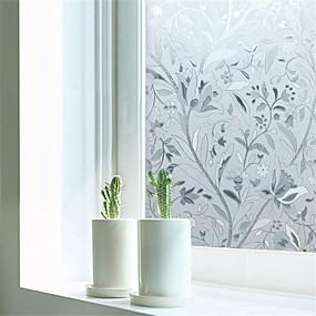 cheap Decoration Stickers-Window Film & Stickers Decoration Contemporary Art Deco PVC/Vinyl Window Film