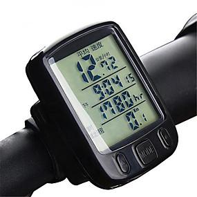 economico Accessori per Ciclismo e bicicletta-A234 Computerino da bici controluce Tachimetro Antiscivolo Mountain bike Ciclismo / Bicicletta Bicicletta pieghevole Ciclismo