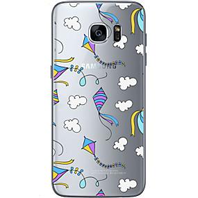 halpa Galaxy S -sarjan kotelot / kuoret-Etui Käyttötarkoitus Samsung Galaxy Samsung Galaxy S7 Edge Kuvio Takakuori Balloon Pehmeä TPU varten S7 edge / S7 / S6 edge plus