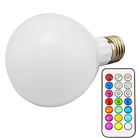 levne LED Smart žárovky-1ks 10 W LED chytré žárovky 800 lm E26 / E27 G95 1 LED korálky Integrovaná LED Stmívatelné Dálkové ovládání Ozdobné RGBWW 85-265 V / 1 ks / RoHs