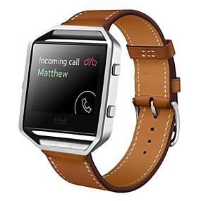 tanie Grupowe zakupy-Watch Band na Fitbit Blaze Fitbit Pasek sportowy Skóra Opaska na nadgarstek