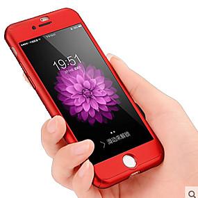 abordables Coques d'iPhone-cas pour apple iphone xr xs xs max corps entier solide anti-choc / anti-poussière solide pc de couleur pour iphone x 8 8 plus 7 7plus 6s 6s plus se 5 5s