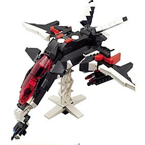 olcso Játékok & hobbi-GUDI GUDI8119 Zenés akciófigura Építőkockák Katonai blokkok Harcos Sas Robot összeegyeztethető Legoing Menő Divatos és modern Fiú Lány Játékok Ajándék / Fejlesztő játék