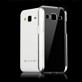 voordelige Galaxy J5 Hoesjes / covers-hoesje Voor Samsung Galaxy J7 (2016) / J7 / J5 (2016) Transparant Achterkant Effen TPU