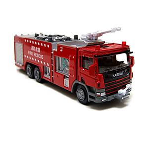رخيصةأون ألعاب السيارات-KDW شاحنة سيارة الإطفاء Dozer لعبة الشاحنات ومركبات البناء لعبة سيارات 1:10 حداثة للأطفال صبيان فتيات ألعاب هدية