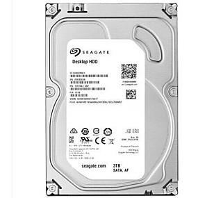 billige Interne harddisker-Seagate 3TB Desktop Hard Disk Drive 7200rpm SATA 3.0 (6 Gb / s) 64MB cache 3,5 tommer-ST3000DM001