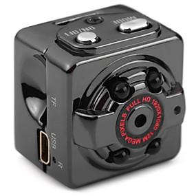 voordelige Auto DVR's-SQ8 HD 1280 x 720 / 1280 x 720 / 1920 x 1080 Auto DVR 65 Graad Wijde hoek CMOS Geen Screen (output door APP) Dash Cam met Nacht Zicht /