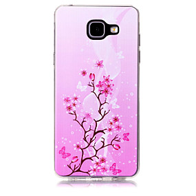 voordelige Galaxy A5(2016) Hoesjes / covers-hoesje Voor Samsung Galaxy A3 (2017) / A5 (2017) / A7 (2017) Patroon Achterkant Boom Zacht TPU