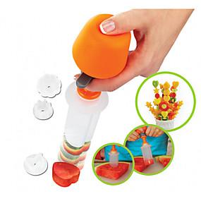 ieftine Ustensile Bucătărie & Gadget-uri-Plastic Mold DIY Bucătărie Gadget creativ Instrumente pentru ustensile de bucătărie pentru Fructe