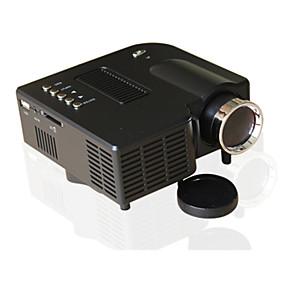 billige Projektorer-UNIC LCD LED Projektor 500 lm Support 1080P (1920x1080) 10-100 inch / 4:3 og16:9 / QVGA (320x240) / ±15°