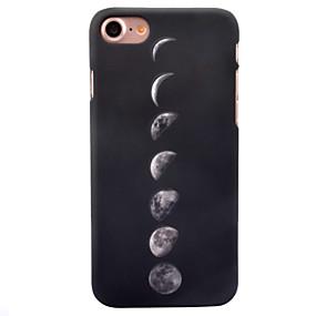 olcso iPhone tokok-Case Kompatibilitás Apple iPhone 8 / iPhone 8 Plus Foszforeszkáló / Minta Fekete tok Csempe Kemény PC mert iPhone 8 Plus / iPhone 8 / iPhone 7 Plus